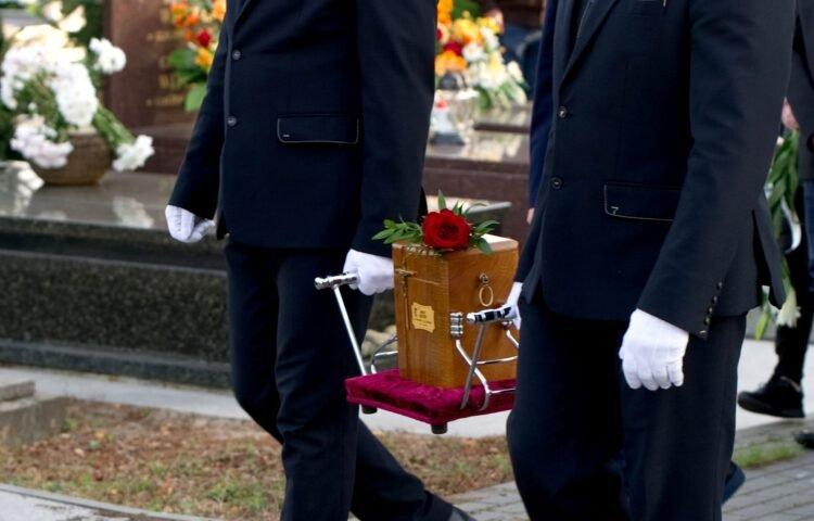 Pogrzeb urnowy przeprowadzony w Iławie przez zakład pogrzebowy KORIM