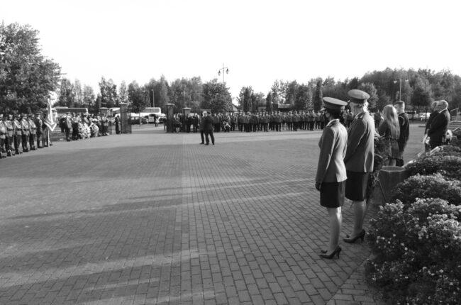 Ceremonia pogrzebu organizowana w ramach usługi pogrzedowej zakłdu pogrzebowego KORIM z Iławy.
