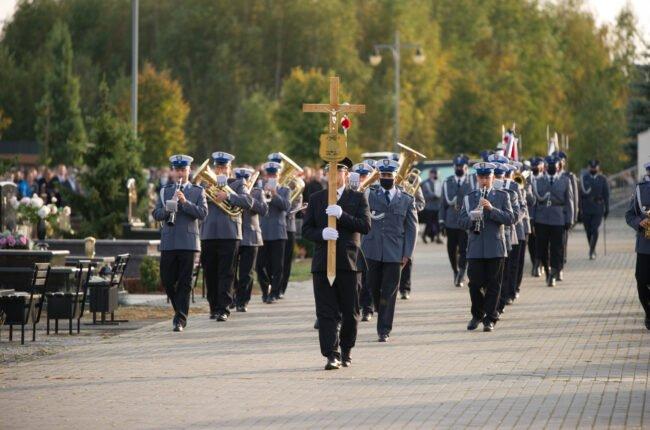 Pogrzeb katolicki w ramach usługi pogrzebowej realizowanej przez firmę pogrzebową KORIM Iława.