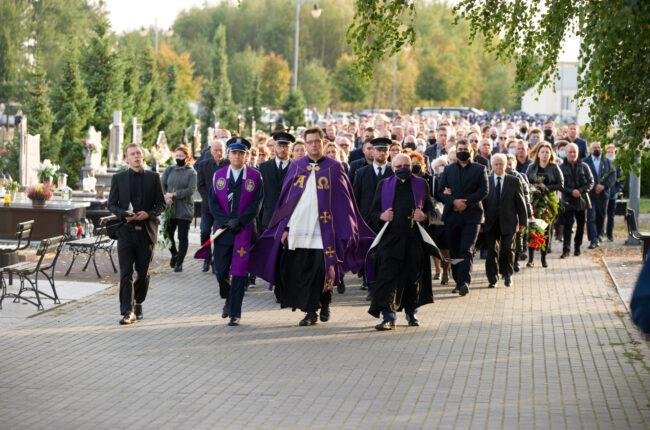 Pogrzeb w Iławie w ramach usługi pogrzebowej firmy KORIM z Iławy.
